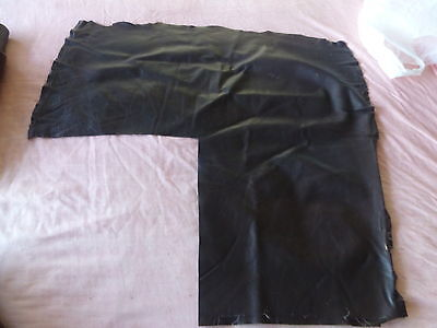 Leather Upholstery offcut  Brown Cow Hide supple & Pliable for craft  hobby