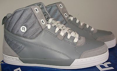 Brand New With Box Reebok Sh Majestic Mid  Size 11 Grey White