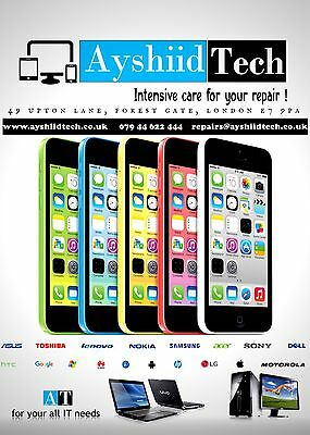 Fast  Iphone 5C Screen Repair Service Complete Lcd Digitiser Replacement
