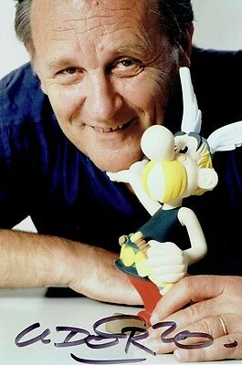 ALBERT UDERZO - Signed colour portrait