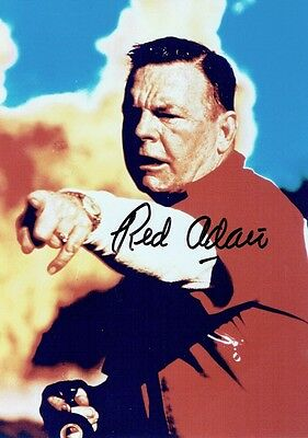 RED ADAIR  - Signed colour