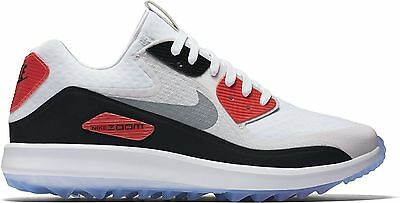 2017 Nike AIR ZOOM 90 IT Golf Shoes Medium -White/Grey/Black- 844569-101