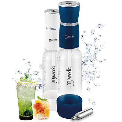 Nuvo New Mysoda sparkling water maker with 1000mL BPA Free Carbonating Bottle