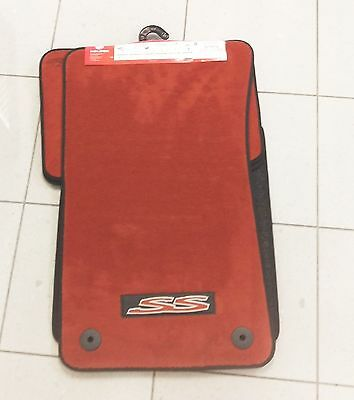 Genuine Holden New SS Ignition Floor mats set of 4 to suit VE SS Commodore