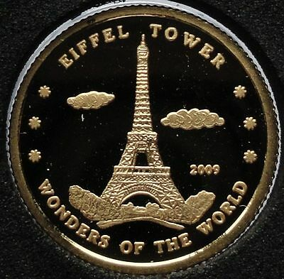 Korea-2009-10-WON-EIFFEL-TOWER-1-gr-999-1000-gold-UNC