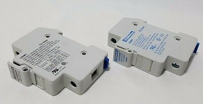 "*NEW* FERRAZ SHAUMUT ULTRASAFE Y213944 Fuse Holder USM1 ,10x38mm ,13/32""x1-1/2"""