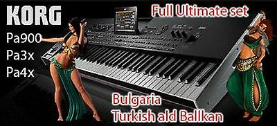 SET BULGARIA TURKISH ald Ballkan for Korg pa900 Pa3x Pa4x Pa2x add Pa800