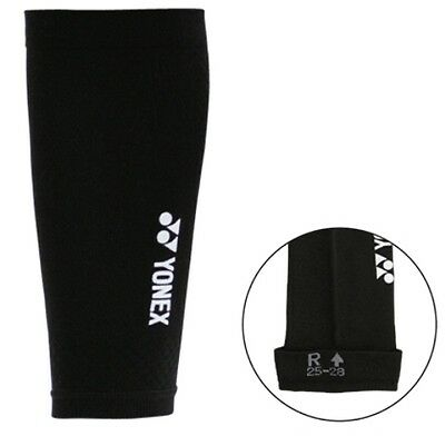 One Pair YONEX Elastic Compression Calf Socks, Sleeves 17901-007 Made in Taiwan