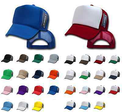 10 Lot Decky Classic Vintage New Trucker Hat Hats Cap Caps Snapback Wholesale