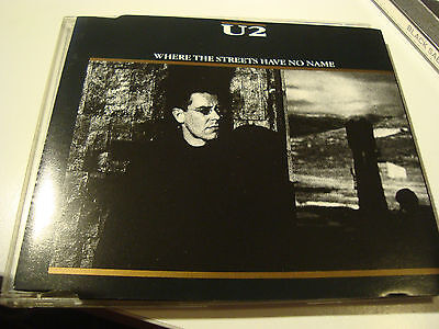 Rar Maxi Cd. U2. Where The Streets Have No Name. Made In Germany. 1987