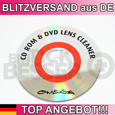 PROFI Linsenreiniger Reinigungs CD für BluRay DVD Player Laptop + PC Laufwerk