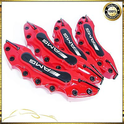 Red MERCEDES AMG Brake Caliper Cover Universal Disc Racing Front Rear Power TOP
