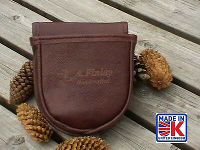 Leather Shooting Cartridge Bag Pouch Clay Pigeon Skeet Shooting Shooters Bbm