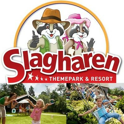 3 Day Family holiday Leisure park Slagharen 2 Adult and max. 4 Children