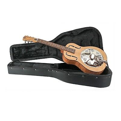 Royall '29 Style Triolian Resonator Guitar Flame Maple Body with Case