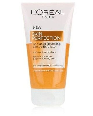 L'Oreal Skin Perfection Radiance Revealing Gentle Exfoliator 150ml/Soap-Free/NEW
