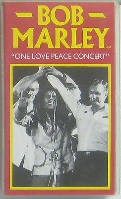 Bob Marley one love peace concert (VHS Video )