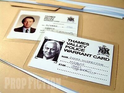 Inspector Morse - DCI Morse & DS Lewis Police ID Cards