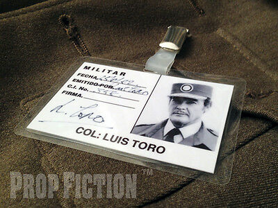 James Bond 007: Octopussy - Colonel Toro Prop Security ID Card