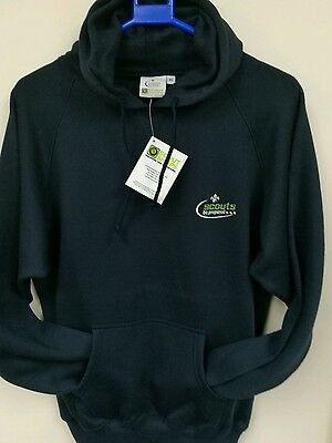 Medium Adults Scouts Shops Be Prepared Navy Blue Hoody With Pockets