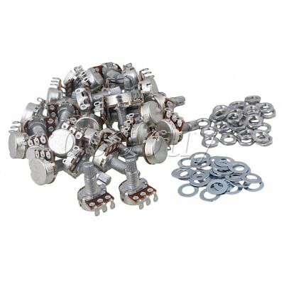 200pcs B500K OHM Audio Pots Guitar Potentiometer Replace for Electric Guitar