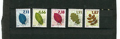 LOT  TIMBRES APREOBLITERES type feuille d'arbres