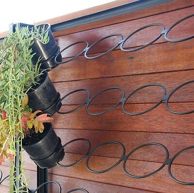 🌺🌺Vertical Garden Frame for feature wall (includes Plastic Pots) 🌺🌺