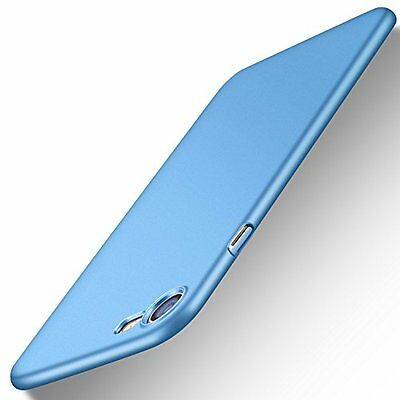 Anti-Scratch Ultra Thin Slim Hard Case Cover For Apple iPhone 7 Light Blue