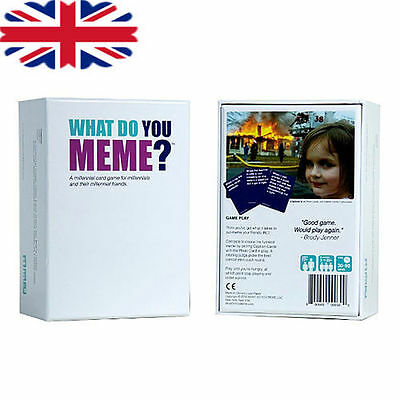 What Do You Meme Card Game New And Sealed