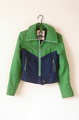 COOL RETRO 1980'S VINTAGE JACKET - Free Delivery