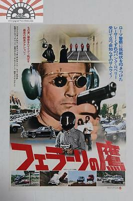 MCH29146 Poliziotto Sprint 1977 Japan Movie Chirashi Mini Poster Flyer