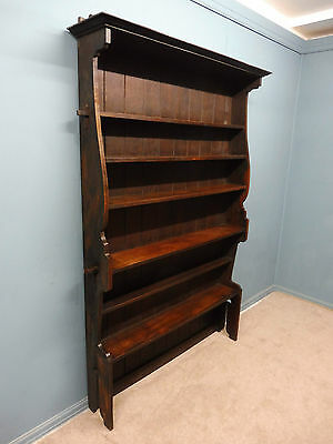 Large Antique Oak Arts And Crafts  Bookcase Circa 1900
