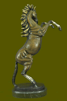 Massive Rearing Horse Limited Edition Museum Quality Classic Artwork Bronze EG