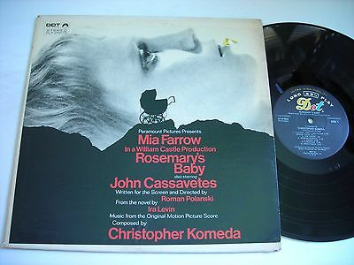 Rosemary's Baby Music from the Original Motion Picture Score 1968 Stereo LP VG++