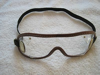 Used Horse Racing Jockey Goggles Perfect for Halloween or Gift or Yard Work