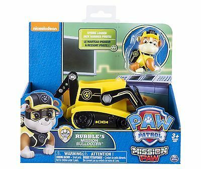 Paw Patrol Rubble's Bulldozer Toy - Rubble Toy  NEW STYLE Authentic Mission Paw