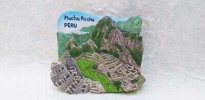 MACHU PICCHU PERU Resin 3D Fridge Magnet Collectibles Souvenir Gift Refrigerator