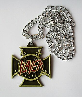 Slayer Metal Band Necklace