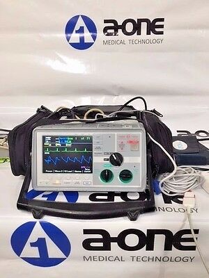 ZOLL E Series 12 Lead ECG,SpO2,etCO2, NIBP, Analyzer, Battery