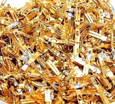 Gold Scrap Recovery 70g(2.47oz) MILITARY AIRCRAFT GRADE GOLD PLATED PINS 1980-70