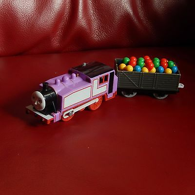 tomy trackmaster thomas the tank engine battery train rosie  truck and balloons