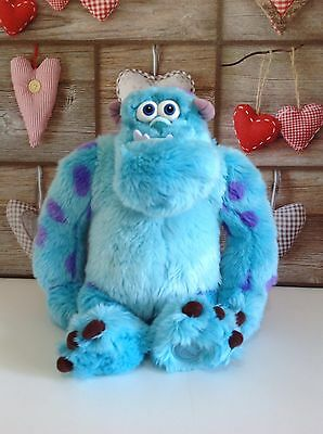 "16"" SULLY Monsters Inc Large Plush soft Toy Figure OFFICIAL DISNEY STORE teddy"