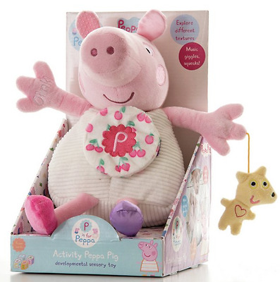 Peppa Pig Large Activity Toy - Music, Giggles & Squeaks New Baby  FAST DISPATCH!