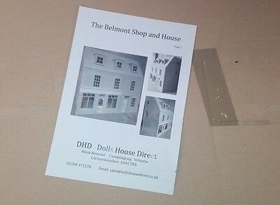 Dolls House Direct 1:12th Scale The Belmont House & Shop Kit BNIB