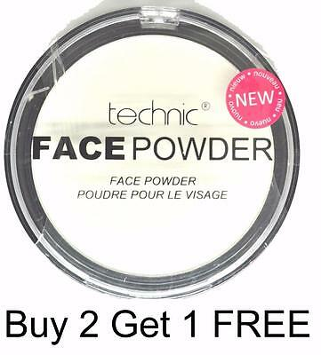 Technic White Face Powder Make Up Goth Halloween