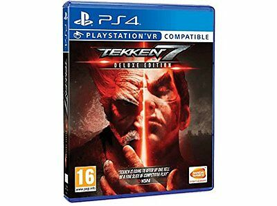 Tekken 7 Deluxe Edition PS4 NEW SEALED FAST DISPATCH