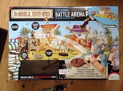 Horrible Histories Exploding Battle Arena Plus Other Horrible Histories Sets