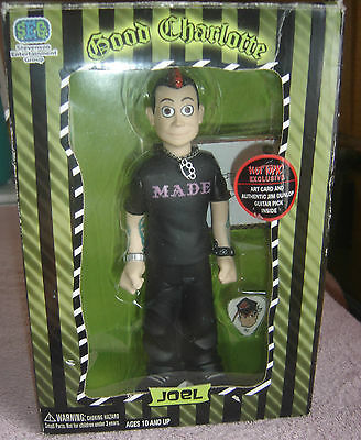 Good Charlotte Joel Figure New Hot Topic Exclusive Stevenson Entertainment 2004