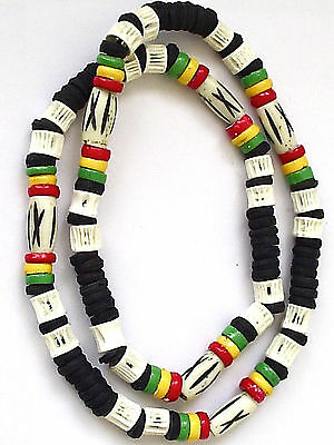 Rasta Reggae Marley Surfer Necklace Choker Mens Boys Girls   N0280