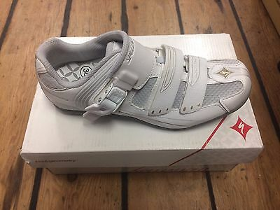 Specialized Torch Touring Shoe - White / Gold- Size 36